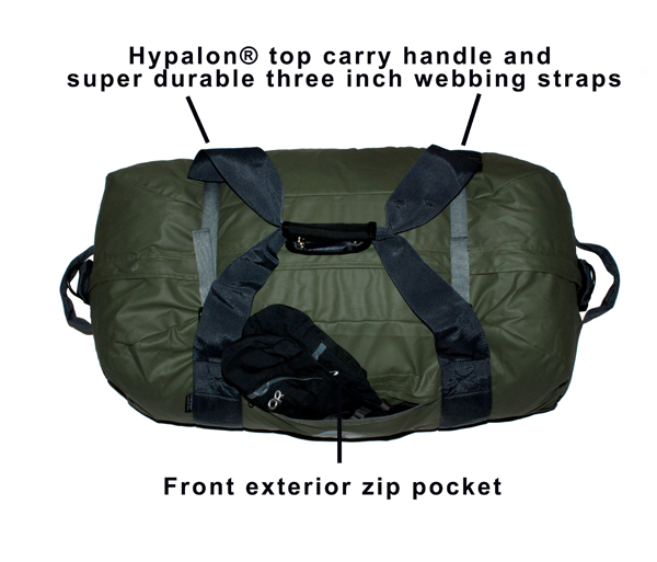 Carry Straps and Front Pocket