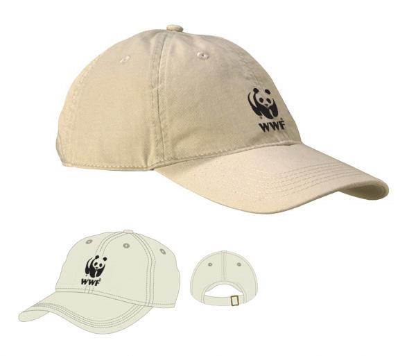 WWF Organic Baseball Hat