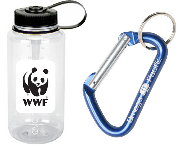 Clip Carabiner Included