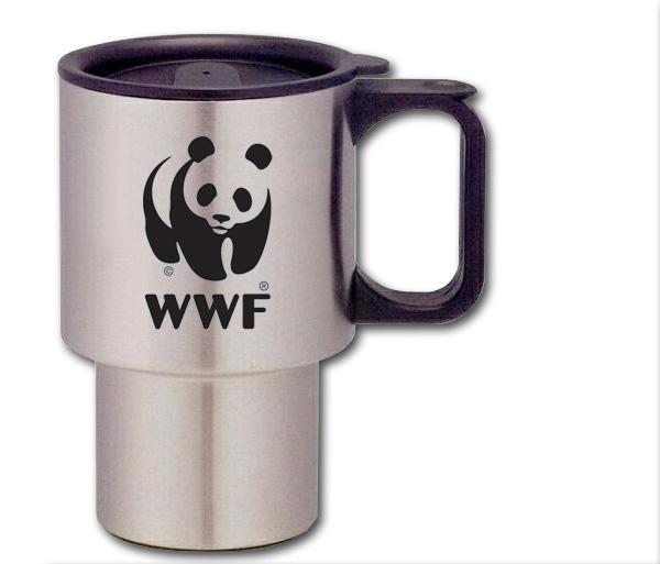 WWF Stainless Coffee Mug